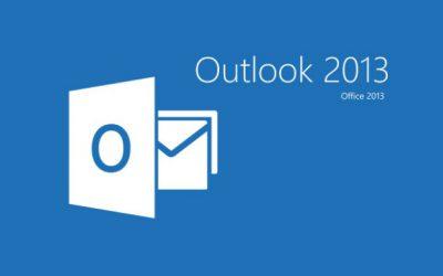 Cómo configurar mi cuenta de correo en Outlook 2013?