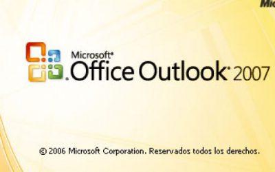 Cómo configurar mi cuenta de correo en Outlook 2007?